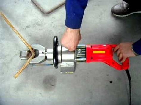rb  portable hydraulic rebar benderre bar bending tool youtube