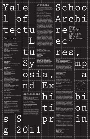 yale school  architecture poster series yve ludwig