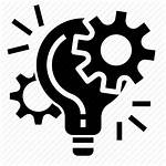 Icon Project Management Technology Innovation Idea Concept