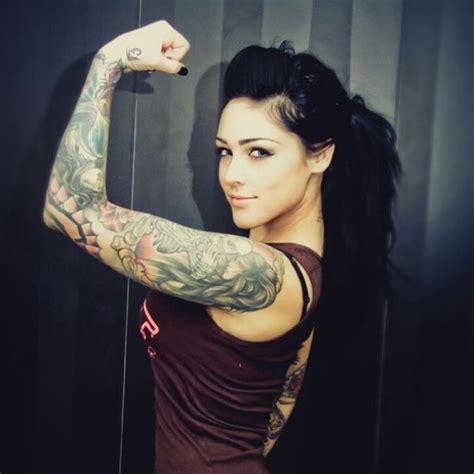 full sleeve tattoo woman ink pinterest sleeve