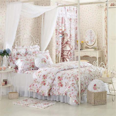 chambre a theme romantique parure de lit romantique pack linge de lit pack linge de