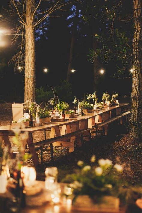 rustic wedding decoration ideas  magical forest wedding