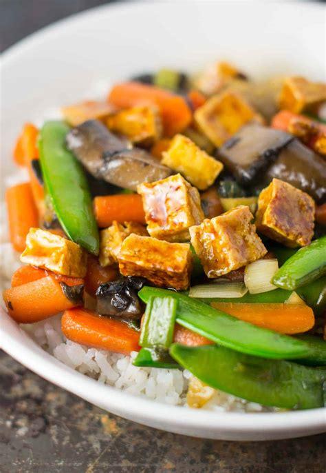 tofu stir fry honey ginger tofu stir fry recipe vegetarian gluten free
