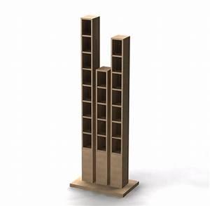 Range Cd Colonne : colonne range cd design table de lit a roulettes ~ Teatrodelosmanantiales.com Idées de Décoration