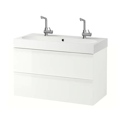 godmorgon br 197 viken sink cabinet with 2 drawers high