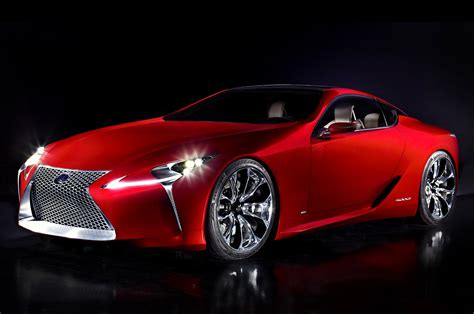 lexus lf lc hybrid sports coupe concept at detroit