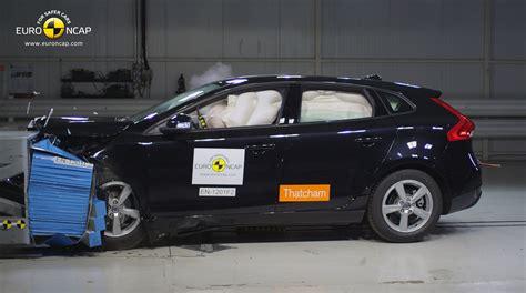 Crash Test by Volvo V40 Breaks Safety Records In Ncap Crash Testing
