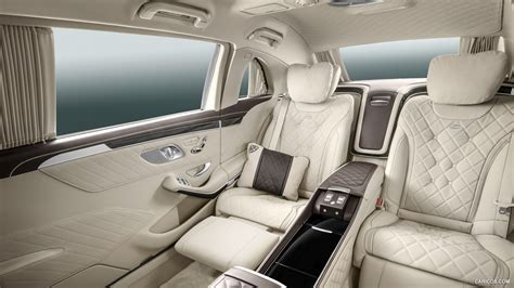 The most luxurious car ever made | mercedes maybach pullman. 2016 Mercedes-Maybach S600 Pullman - Interior | HD Wallpaper #13