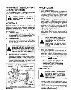 Craftsman 486244071 User Manual 42 Snow Blade Manuals And