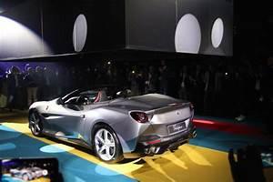 Nouvelle Ferrari Portofino : photos de la ferrari portofino lors de la pr sentation organis e paris ~ Medecine-chirurgie-esthetiques.com Avis de Voitures