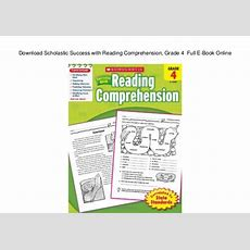 Download Scholastic Success With Reading Comprehension, Grade 4 Full…