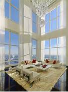 Luxurious Penthouse Dramatic Interior Legendary Residence Is Famous For Its Modernity Luxury And Elegance