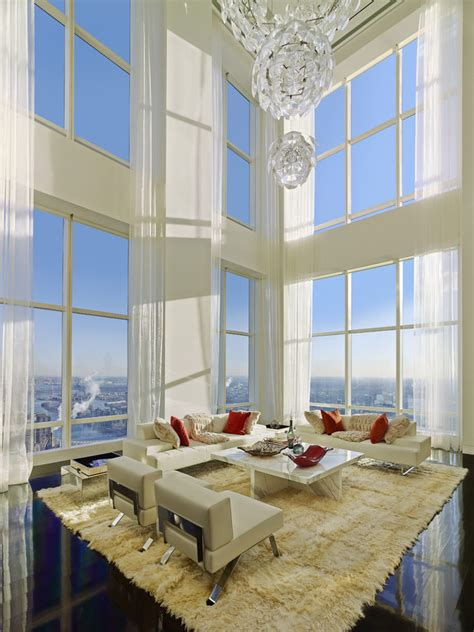 ultra luxury design  billionaires penthouse   york