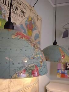 Globus Als Lampe : lampe selber machen 30 einmalige ideen ~ Markanthonyermac.com Haus und Dekorationen