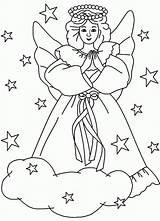 Coloring Angel Angels Printable Sheets Ausmalbilder Engel Colouring Adult Kostenlos Religious Popular Library Drivecolor Malvorlagen Ausdrucken Zum Kristiestreicherbeautybar sketch template