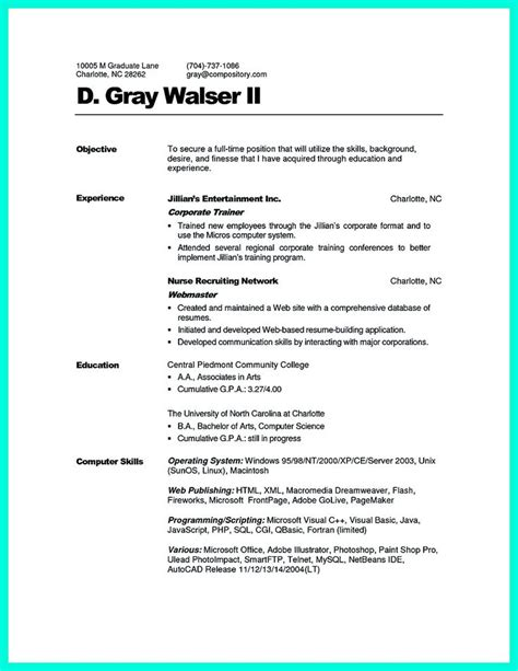corporate trainer resume format 2695 best images about resume sle template and format on business intelligence
