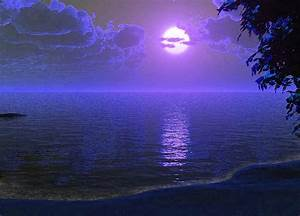 escritorio Noche en la Playa