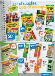 Walmart Back to School Supplies List