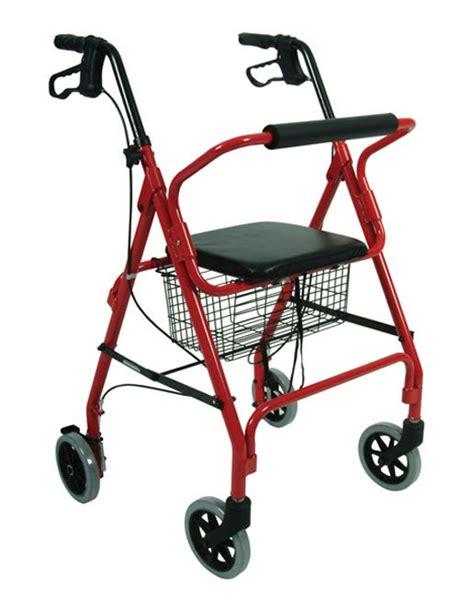 walker seat lightweight brakes rolling walkers rollator rollators