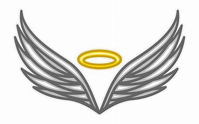 Angel Wings Vector Clip Graphics Illustration Clipart