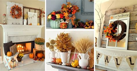 Decorating Ideas Ideas by 24 Best Fall Mantel Decorating Ideas And Designs For 2016