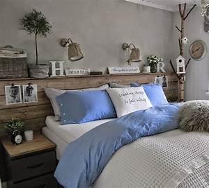 50 schlafzimmer ideen f r bett kopfteil selber machen for Diy schlafzimmer