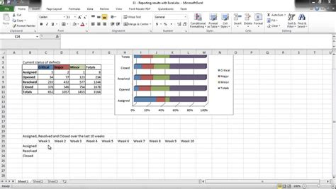 software testing  excel   report test results