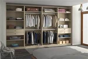 Faire Dressing Dans Une Chambre : dressing ouvert en ch ne dans une chambre esprit zen ~ Premium-room.com Idées de Décoration