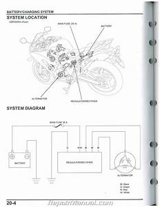 2015 2016 Honda Cbr300r Service Manual Motorcycle