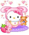 hello kitty glitter gif find share on giphy