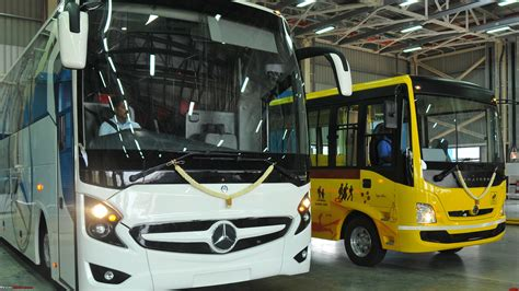Daimler India Commercial Vehicles Opens New Bus Plant