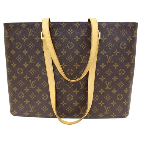 louis vuitton luco tote lv monogram canvas tote bag