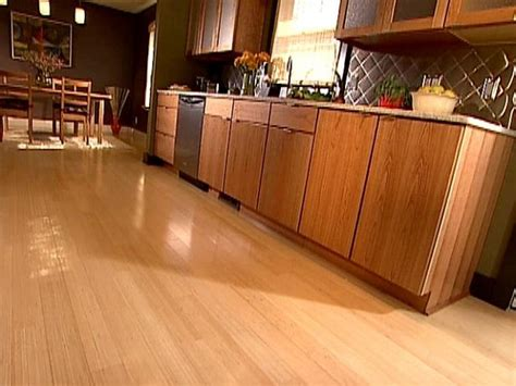 wood tile in kitchen kitchen flooring ideas pictures hgtv 1608