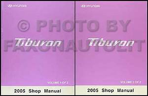 2005 Hyundai Tiburon Electrical Troubleshooting Manual Original