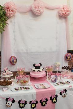 minnie sweet table by violeta glace