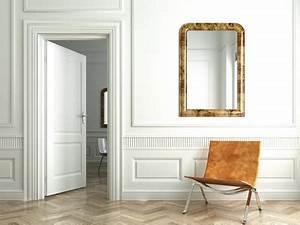 Fixer Une Télé Au Mur : miroir mural fixer un miroir au mur ~ Premium-room.com Idées de Décoration