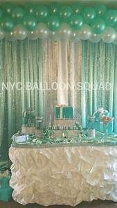 Tiffany and Co inspired theme balloons party, design ...
