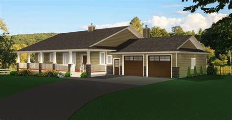 Ranch Style Bungalow with Walkout Basement: A well laid