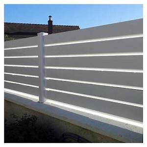 Brise Vue Pvc Blanc : cloture brise vue pvc ~ Dailycaller-alerts.com Idées de Décoration