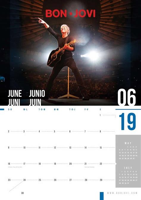 bon jovi calendars ukposterseuroposters
