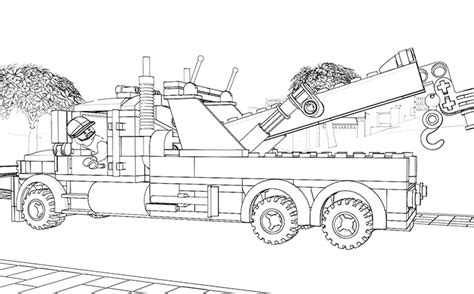 #lego Coloring Page 60056 Great Vehicles 1