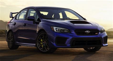 2018 Subaru Wrx, Wrx Sti Debut With Styling Revisions