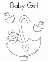Coloring Pages Shower Newborn Printables Printable Twisty Boy Twistynoodle Noodle Outline Umbrella Adults Template Letter Land Popular Tracing Block Coloringhome sketch template