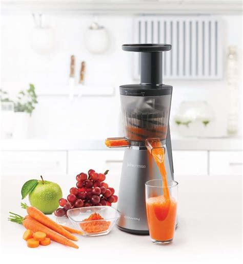 juicer cold press juice machine slow extractor kitchen gadgets masticating costco deal juicers clean tech need designrulz juicing coway uae