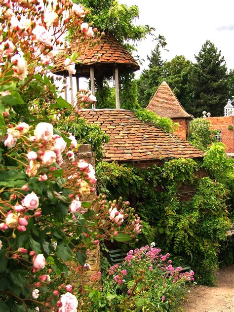 a cottage house cottage gardens