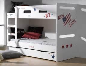 chambre avec lit superposé deco chambre avec lit superposé raliss com