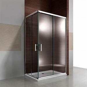 Paroi De Douche 120 : paroi de douche d angle porte coulissante en verre ~ Dailycaller-alerts.com Idées de Décoration