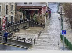 Alerta naranja por inundaciones en sodupe, Paisvasco