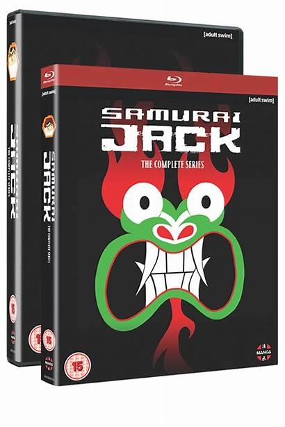 Jack Complete Samurai Series Dvd Ray Blu