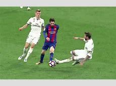 Video Real Madrid 23 Barcelona Sergio Ramos tries to